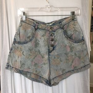 Urban Outfitters floral shorts